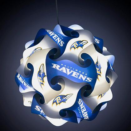 Ravens NFL Lamp