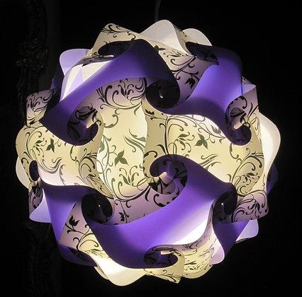 Lavender & Art Deco Sphere
