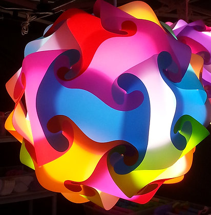 Sphere Confetti Lamp