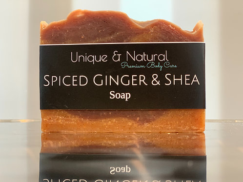 Spiced Ginger & Shea Bar