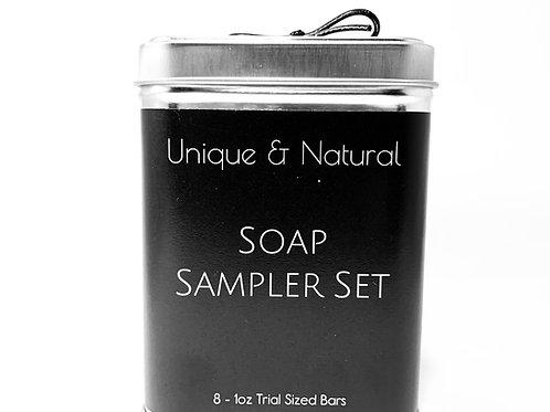 Soap Sampler Set - 8 w/Tin