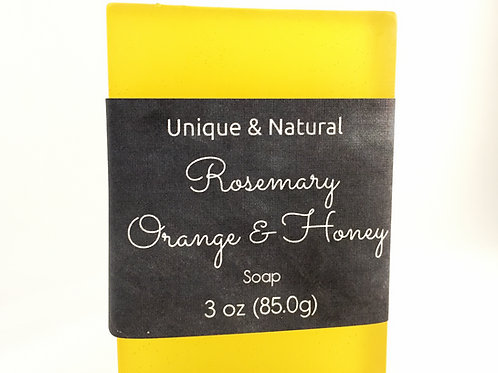 Rosemary Orange & Honey Bar