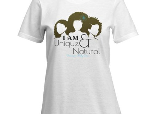 I Am Unique & Natural Tee