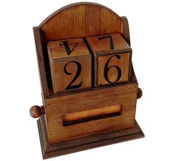 Vintage Calendar Blocks