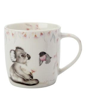 Koala And Wren  Mug ( gift boxed in a tin)