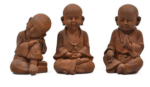 Set of 3 Statues