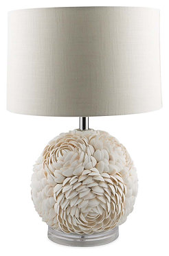 Large Shell Table Lamp