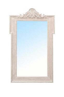Decorative Mirror White Washed