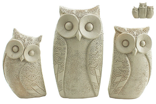 Set Of Owls Set Of 3