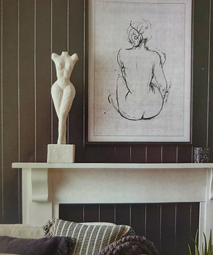 Nude Statue ( White Only)