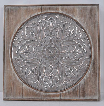 Metal and Timber Wall Art