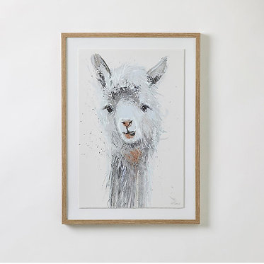 Llama Framed Artwork