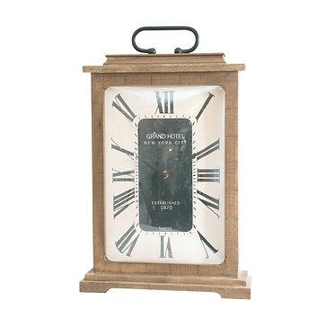 Grand Hotel Dome Faced Clock