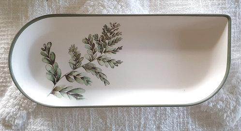Bamboo Fern Design Plate 2
