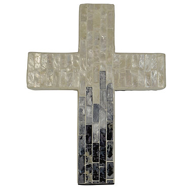 Hand Made Shell Decorative Cross