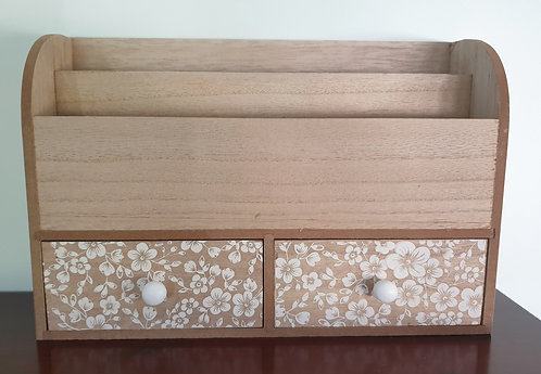 Letter Organiser With Drawers