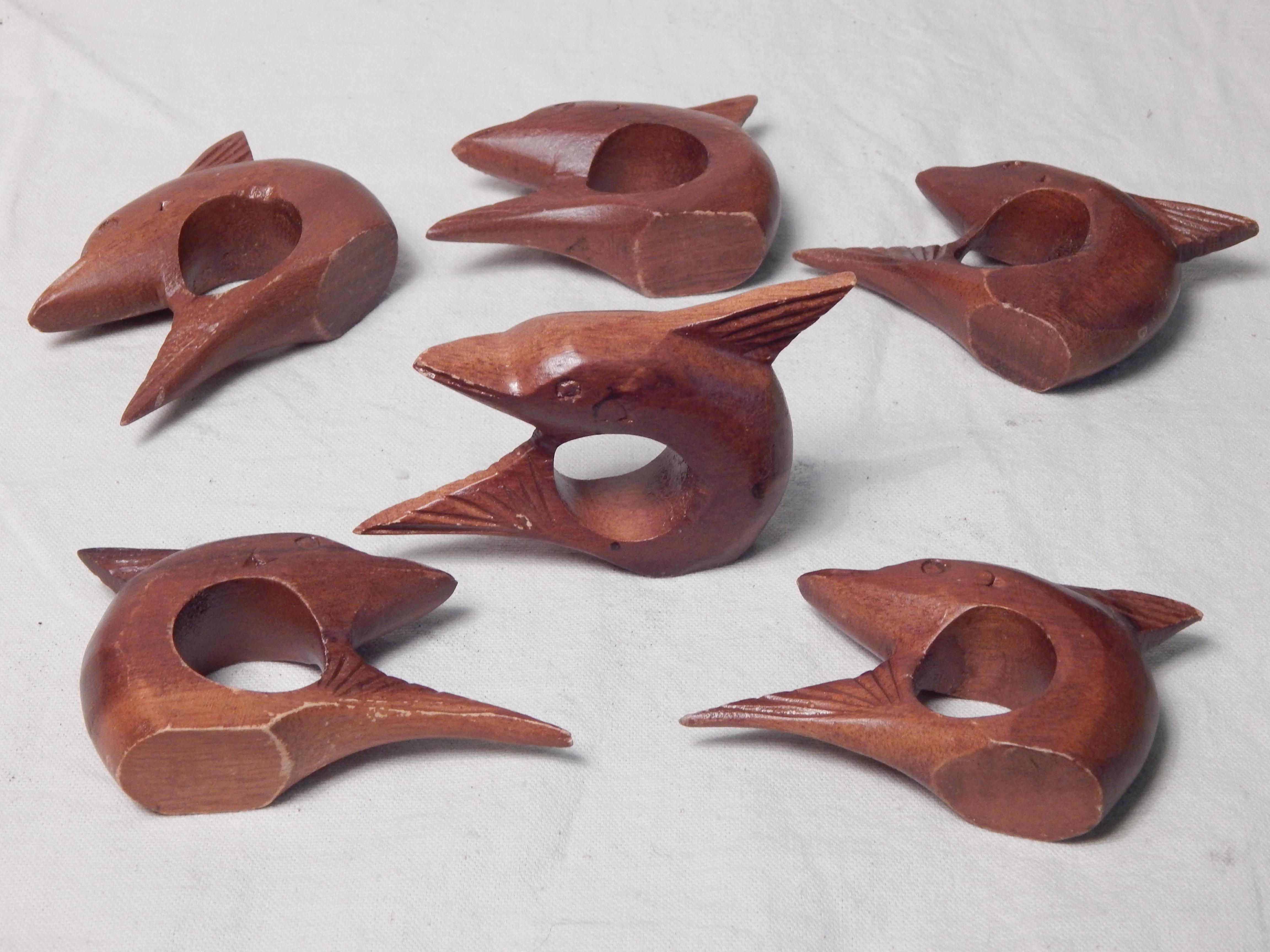 Dolphin Napkin Rings