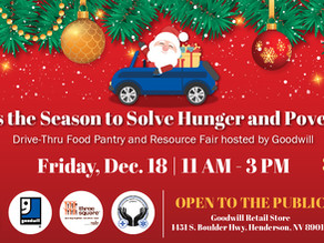Join Goodwill of Southern Nevada for Their Contactless Resource Fair On Friday, December 18th, 2020