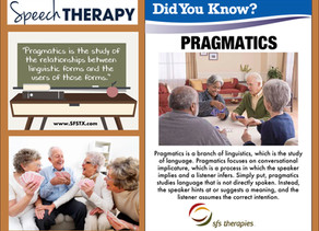 Pragmatics | The more you know...