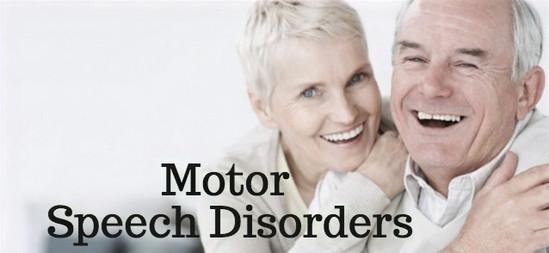Motor-speech disorders