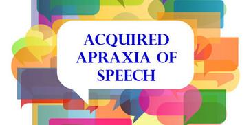 Apraxia of speech(AOS)