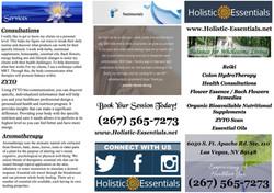 Holistic Essentials 2017 Brochure 2