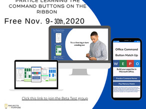 Office Command Match Up app Beta Testing Opportunity  | Ends November 30th