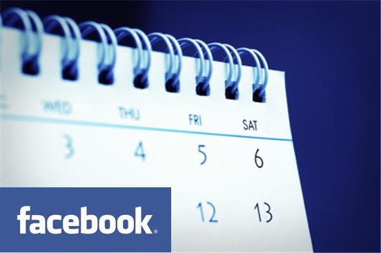 Facebook events are limited to 2 weeks long only