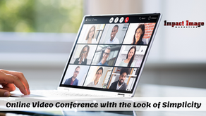 Online Video Conference with the Look of Simplicity