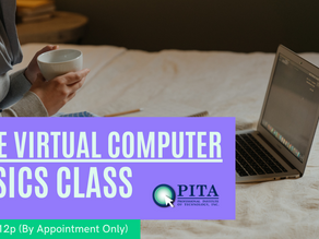 Free Virtual Online Computer Basics Class (By Appointment Only)
