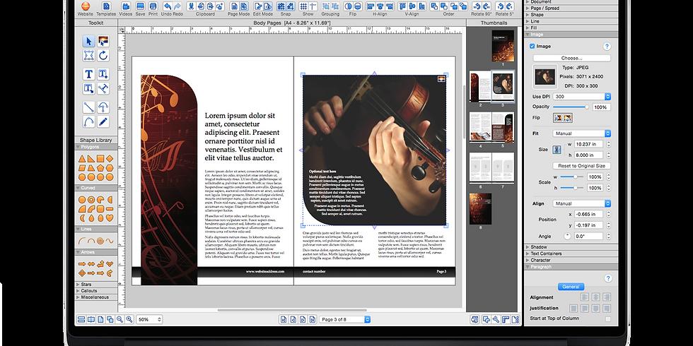 Desktop Publishing For Mac ( iStudio Publisher )