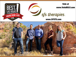 Vote SFS Therapies Best Speech Therapy of Las Vegas!