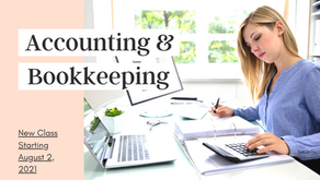 New Accounting & Bookkeeping Class Starting Soon!