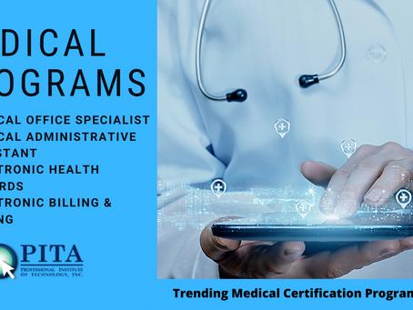 Trending Medical Certification Programs In 2021