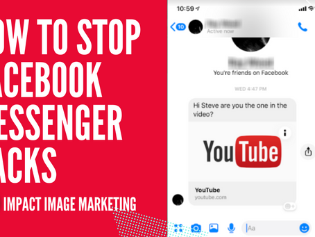 How To Stop Facebook Messenger Hacks   Has this happened To You?