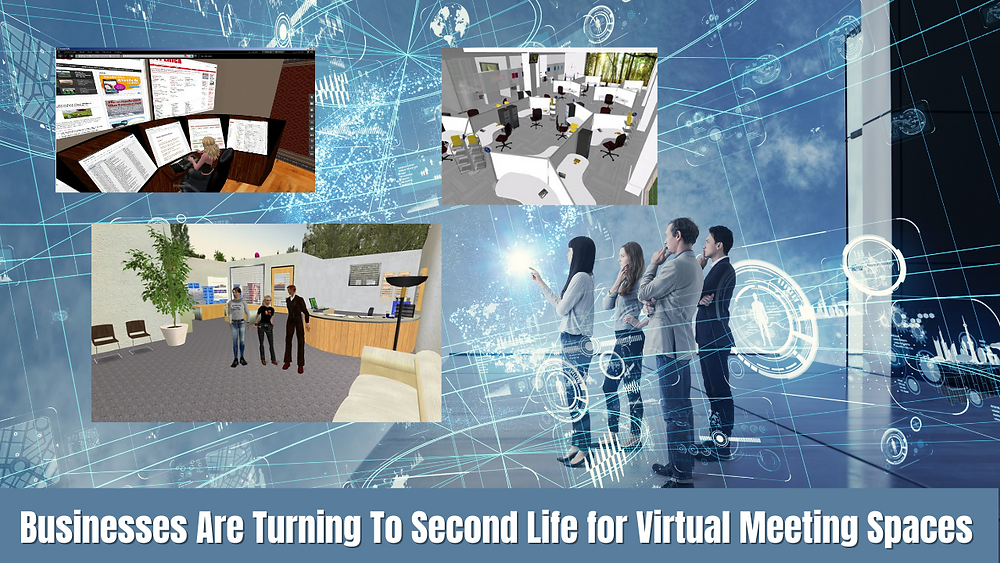 Second LTechnology Trends 2021 | Businesses Are Turning To Second Life for Virtual Meeting Spaces ife is a three-dimensional virtual community created entirely by its membership. Members assume an identity and take up residence in the environment, creating a customized avatar or personage to represent themselves. The avatar moves about in the virtual world using mouse control and intuitive keyboard buttons.