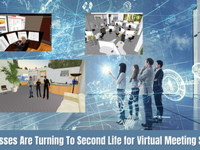 Technology Trends 2021 | Businesses Are Turning To Second Life for Virtual Meeting Spaces