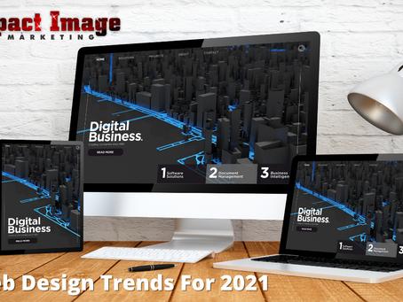 8 Web Design Trends For 2021