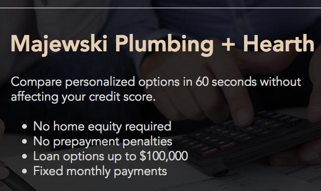 Majewski Plumbing Financing Home Remodel