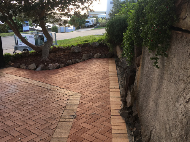The Garden Gnome Port Stephens - paving