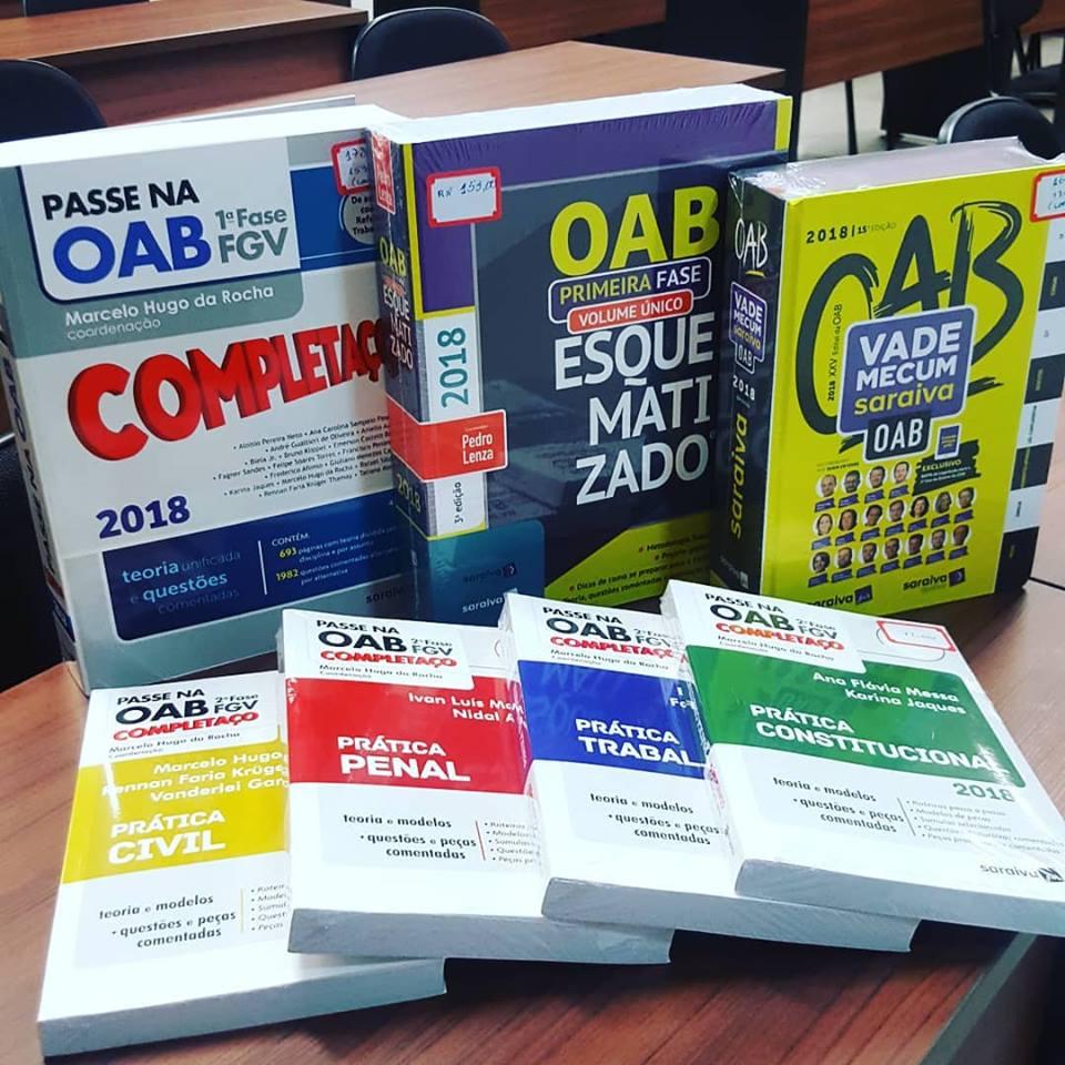 Livros para OAB e concursos