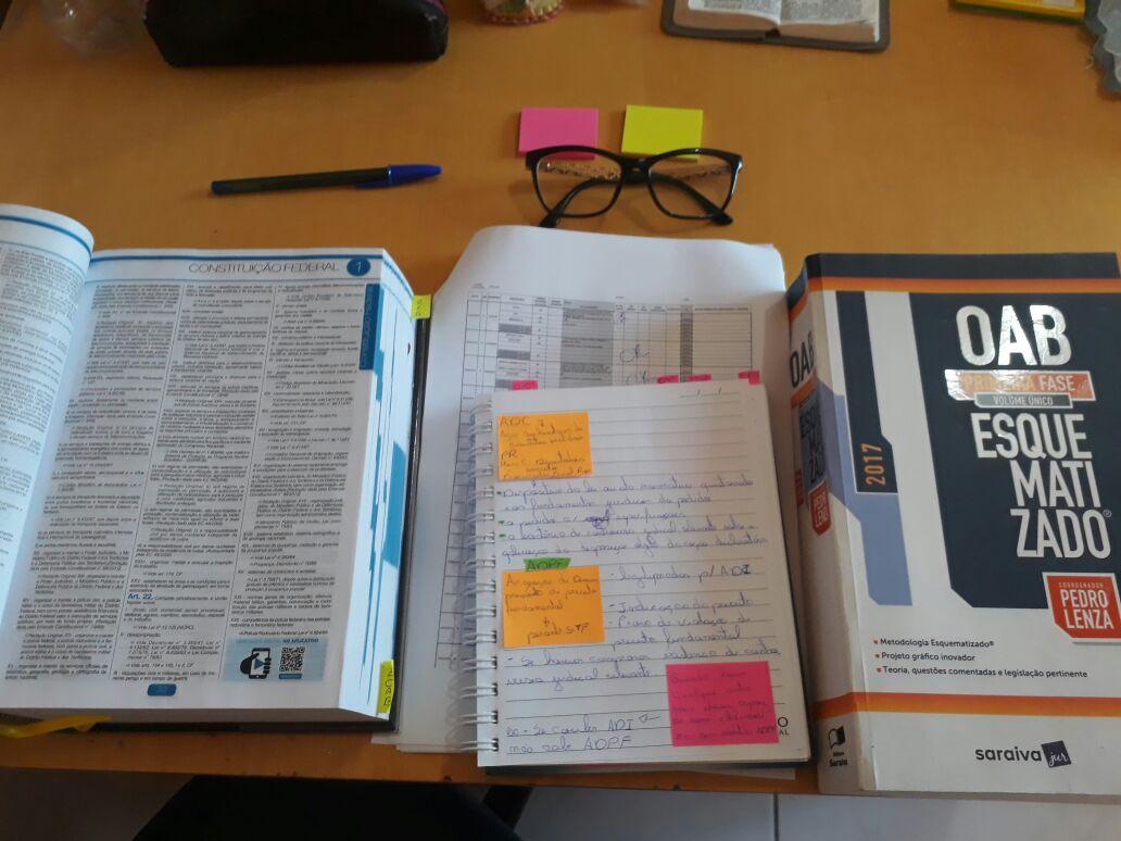 Momento de estudo de um coachee