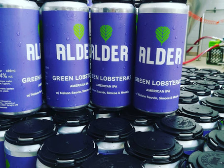 Green Lobster #2 American IPA Alder Beer