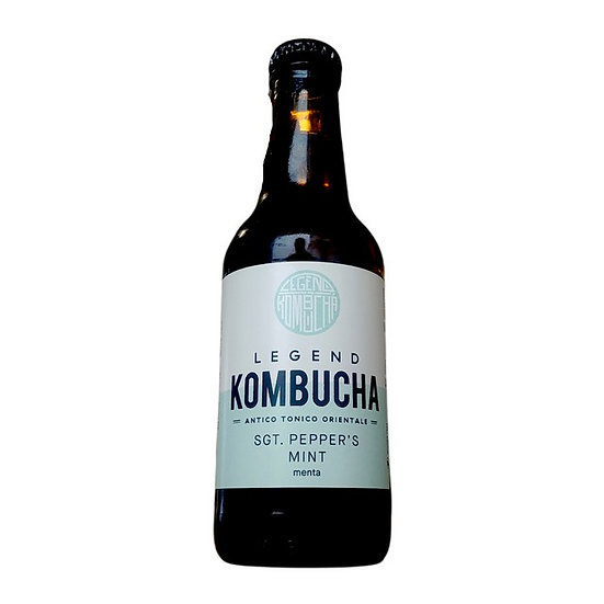 Legend Kombucha - SGT. Pepper's Mint  Bottiglia 25 cl.