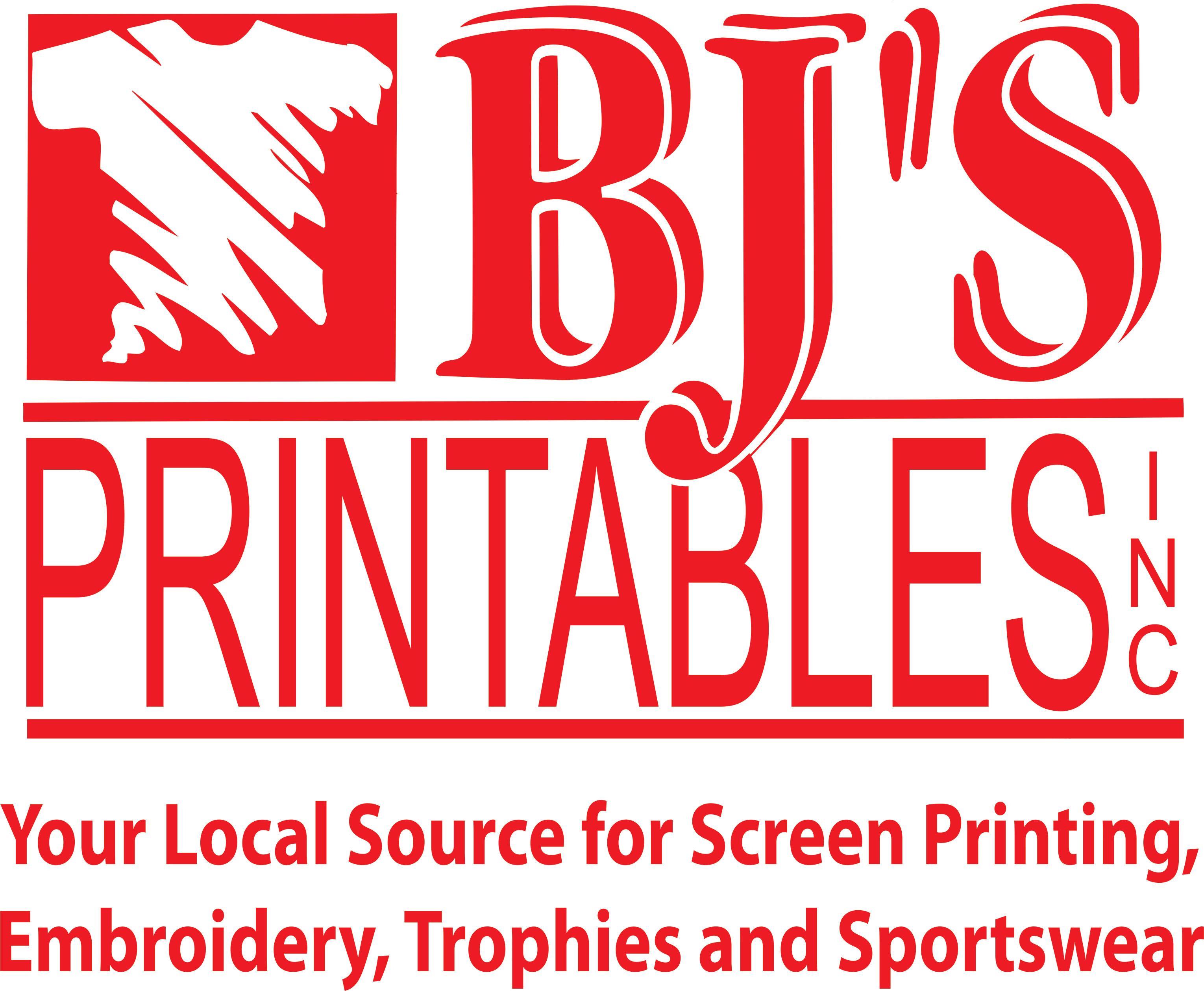 BJ's Printables Inc & Slogan