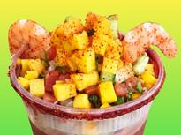 Miche-Ceviche wit Mango