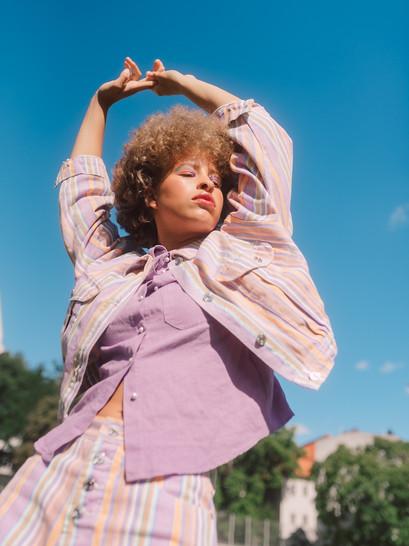 Model: Wilhelima Houston Art Director: Carloline Rubik Foto: Anna-Maria Langer