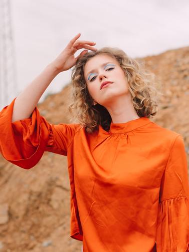Model: Anna Schmal Foto: Anna-Maria Langer