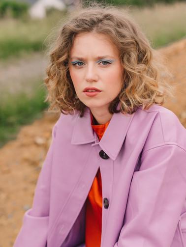Model: Anna Schmall Foto: Anna-Maria Langer