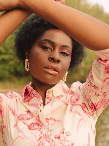 Model: Sarah Sainabou Sonko Foto: Anna-Maria Langer